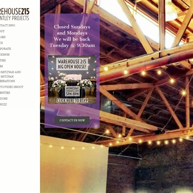 Warehouse 215 wedding vendor preview