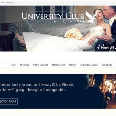 University Club of Phoenix wedding vendor preview