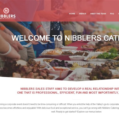 Nibblers Catering wedding vendor preview