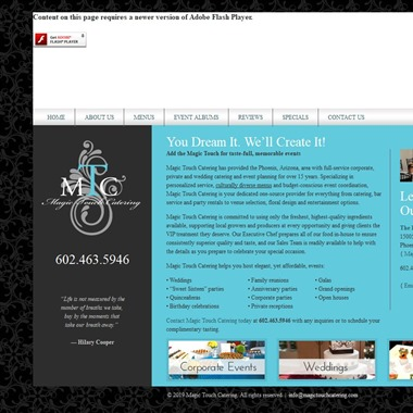 Magic Touch Catering wedding vendor preview