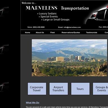 Marveless Transportation wedding vendor preview