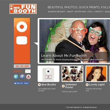 Mr. Fun Booth wedding vendor preview