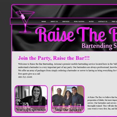 Raise The Bar Bartending wedding vendor preview