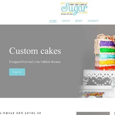 For the Love of Sugar wedding vendor preview