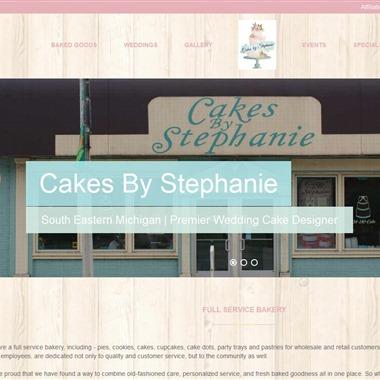 Cakes by Stephanie wedding vendor preview