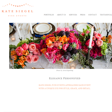 Kate Siegel  wedding vendor preview