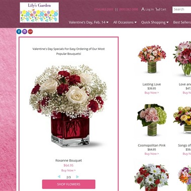 Lily's Garden wedding vendor preview