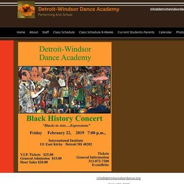 Detroit Windsor Dance Academy wedding vendor preview
