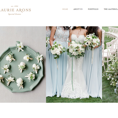 Laurie Arons  wedding vendor preview