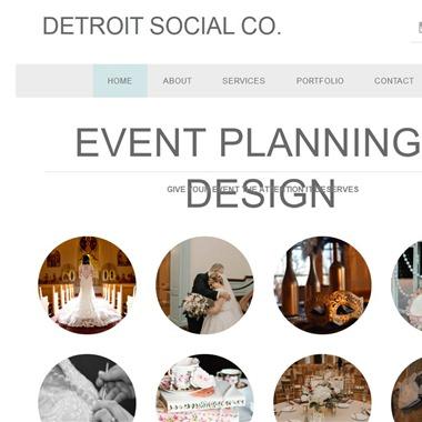 Detroit Social Co. wedding vendor preview