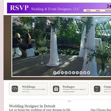 RSVP Wedding & Event Designers wedding vendor preview