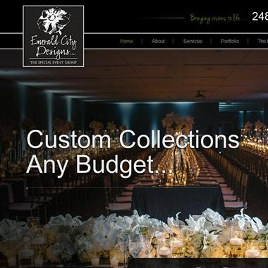 Emerald City Designs wedding vendor preview