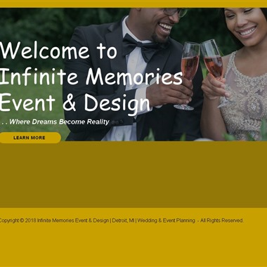 Infinite Memories Event & Design wedding vendor preview