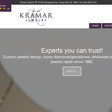 Kramar Jewelry wedding vendor preview