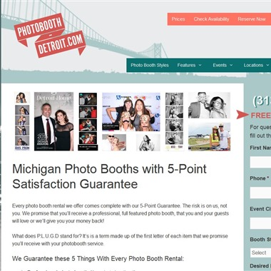 Photobooth-Detroit wedding vendor preview