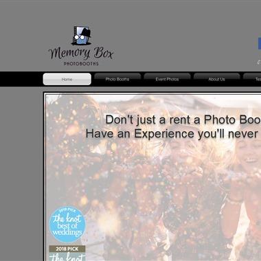 Memory Box Photo Booths wedding vendor preview