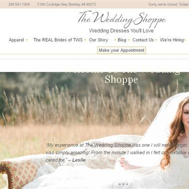 The Wedding Shoppe wedding vendor preview