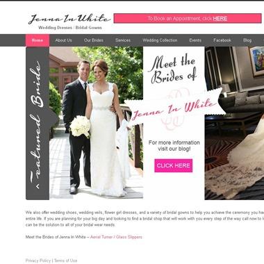 Jenna In White wedding vendor preview