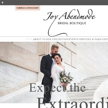 Joy Abendmode Bridal wedding vendor preview
