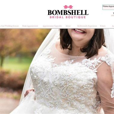Bombshell Bridal Boutique wedding vendor preview