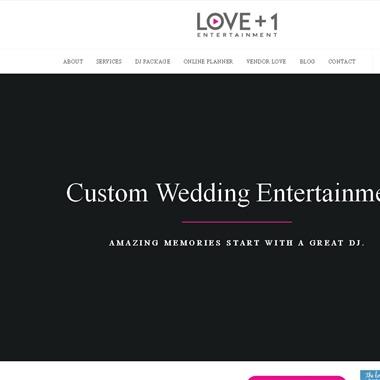 Love Plus One Entertainment wedding vendor preview