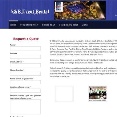 SR Event Rental wedding vendor preview