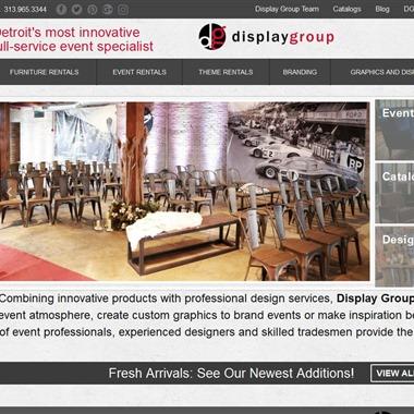 Display Group wedding vendor preview