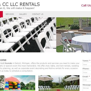 G & CC LLC Rentals  wedding vendor preview