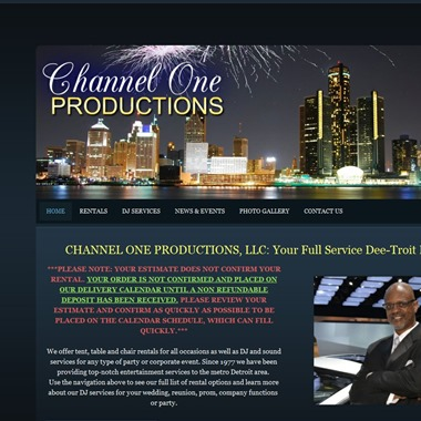 Channel One Productions wedding vendor preview