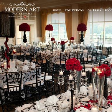 Modern Art Party Rentals wedding vendor preview