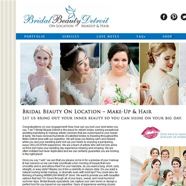Bridal Beauty Detroit wedding vendor preview
