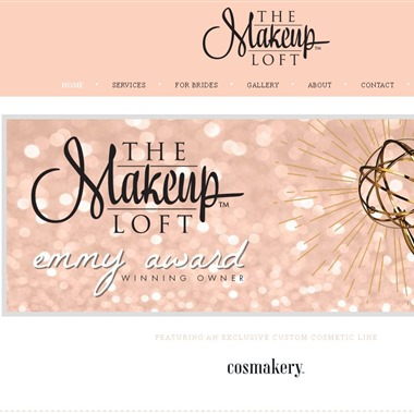 The Makeup Loft wedding vendor preview
