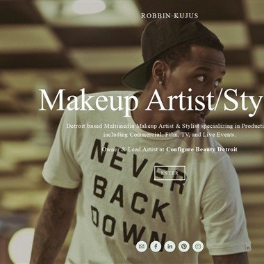 Makeup Artist Robbin Kujus wedding vendor preview
