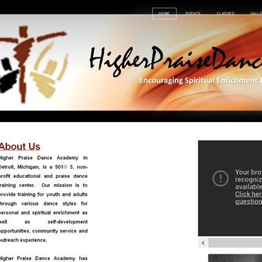 Higher Praise Dance Academy wedding vendor preview
