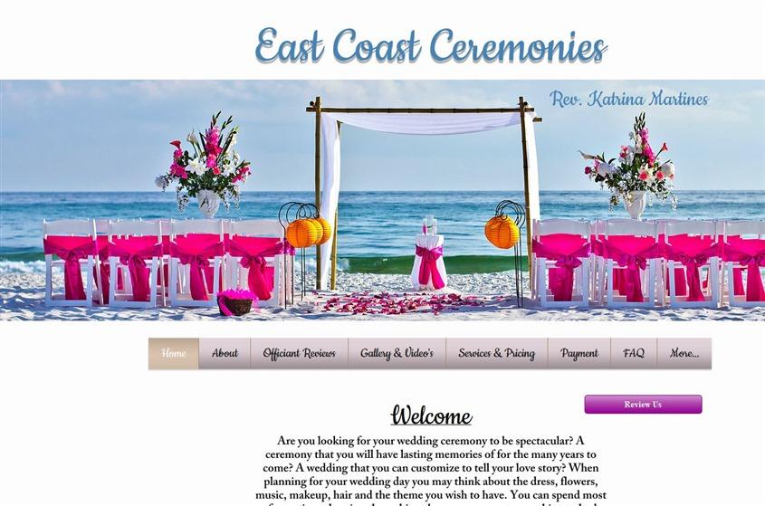 East Coast Ceremonies wedding vendor photo