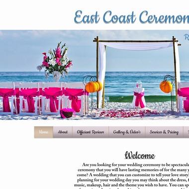 East Coast Ceremonies wedding vendor preview