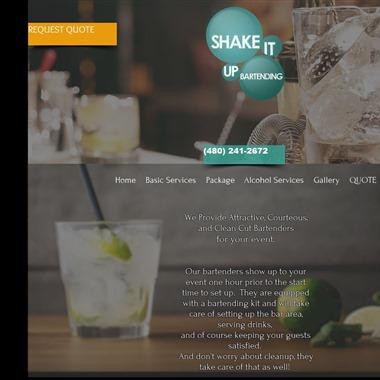 Shake it up Bartending Service wedding vendor preview