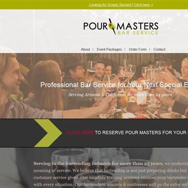 Pour Masters Bar Service wedding vendor preview