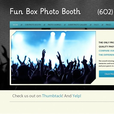 Fun Box Photo Booth wedding vendor preview