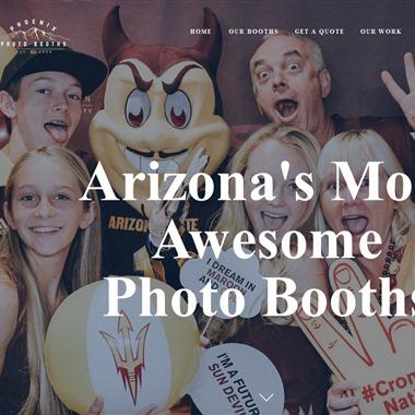 Phoenix Photo Booths wedding vendor preview