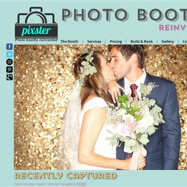 Pixster Photo Booth Rental wedding vendor preview