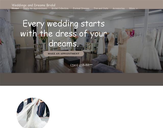 Weddings and Dreams wedding vendor photo