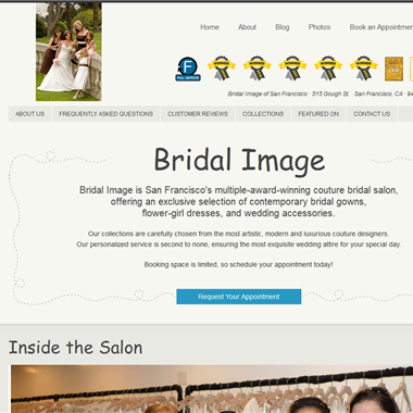 Bridal Image of San Francisco wedding vendor preview