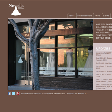 Novella Bridal wedding vendor preview