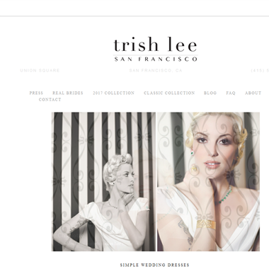 Trish Lee  wedding vendor preview