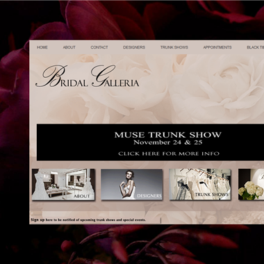 Bridal Galleria wedding vendor preview