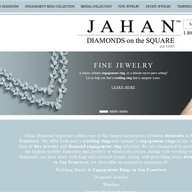 Jahan Diamonds wedding vendor preview