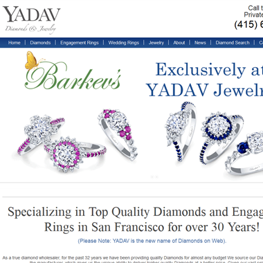 Yadav Diamonds and Jewelry wedding vendor preview