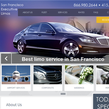 San Francisco Executive Limos wedding vendor preview