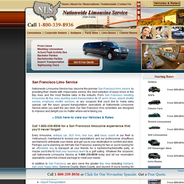Nationwide Limousine Service wedding vendor preview